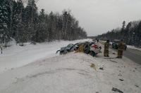 В ДТП на трассе Тюмень - Ханты-Мансийск погиб житель Салыма
