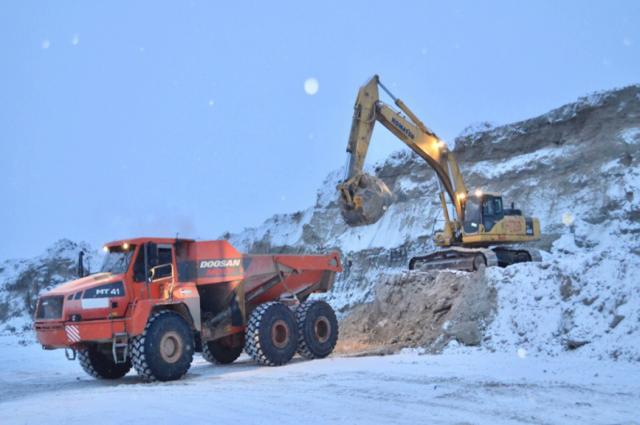 Подрядчики наращивают темпы строительства трассы «Надым – Салехард»