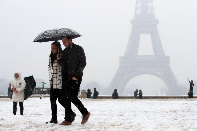 В Париже ввели в действие план «Большой холод»