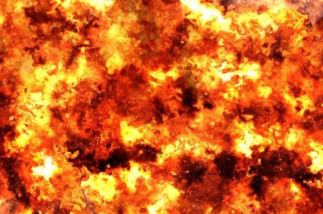 Военные взорвали оползень в Верхнебуреинском районе.