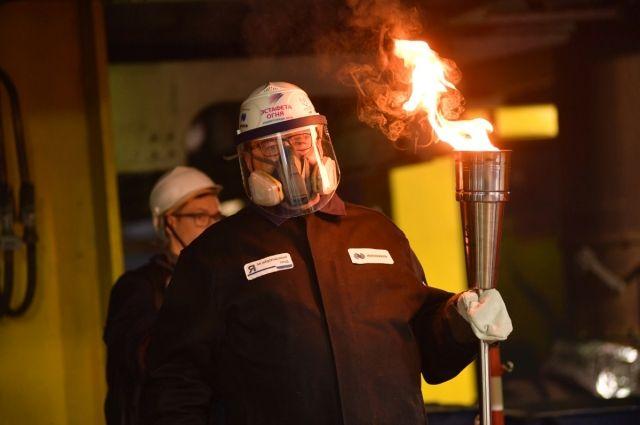 Норильск добавил огня из своих печей.