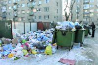 Данное фото было сделано 17 января в Центральном районе Волгограда. Рядом с этой мусоркой, отходы с которой растаскивают вороны и собаки, находятся церковь, детский сад, школа и Дом ребёнка.