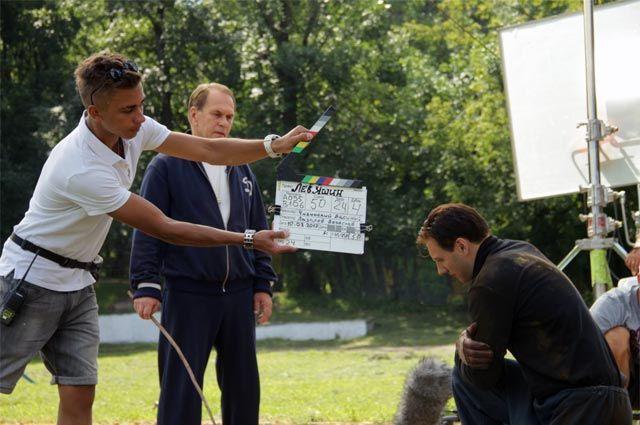 Съемки фильма «Лев Яшин. Вратарь моей мечты».