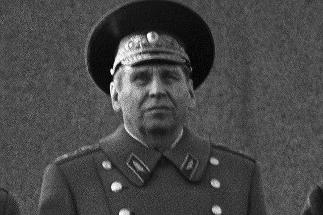 Начальник Генерального штаба Вооруженных Сил СССР, Маршал Советского Союза Николай Васильевич Огарков.
