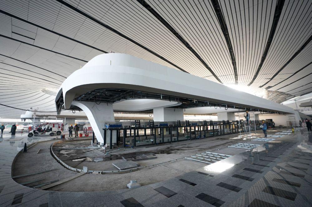 В терминале будет реализована система сбора и использования дождевой воды.