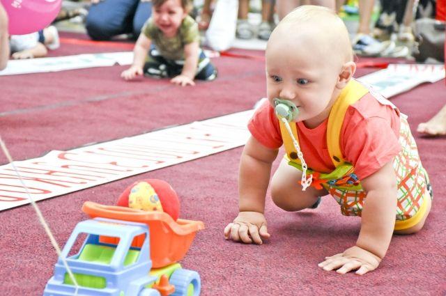 В Ишиме состоится Чемпионат ползунков среди детей до двух лет