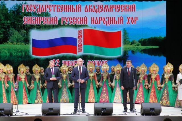 Андрей Травников возглавил делегацию в Белоруссию.