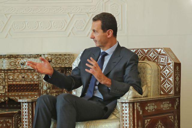 Башар Асад, президент САР, архивное фото