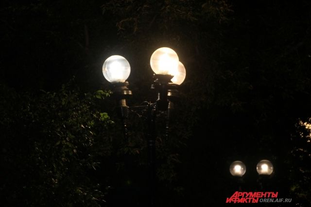 В тюменском поселке установили освещение