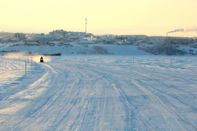 Еще четыре ледовые переправы открыли в Хабаровском крае.