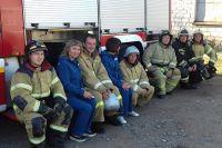 Профилактическая беседа с пожарными Уфимского гарнизона.