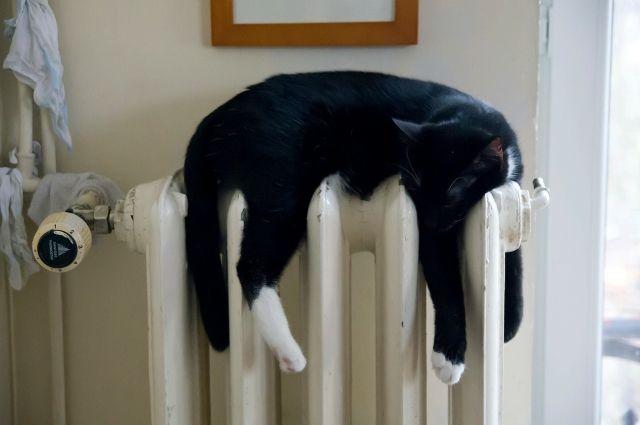 Тепло в большинстве домов обещают вернуть вечером.