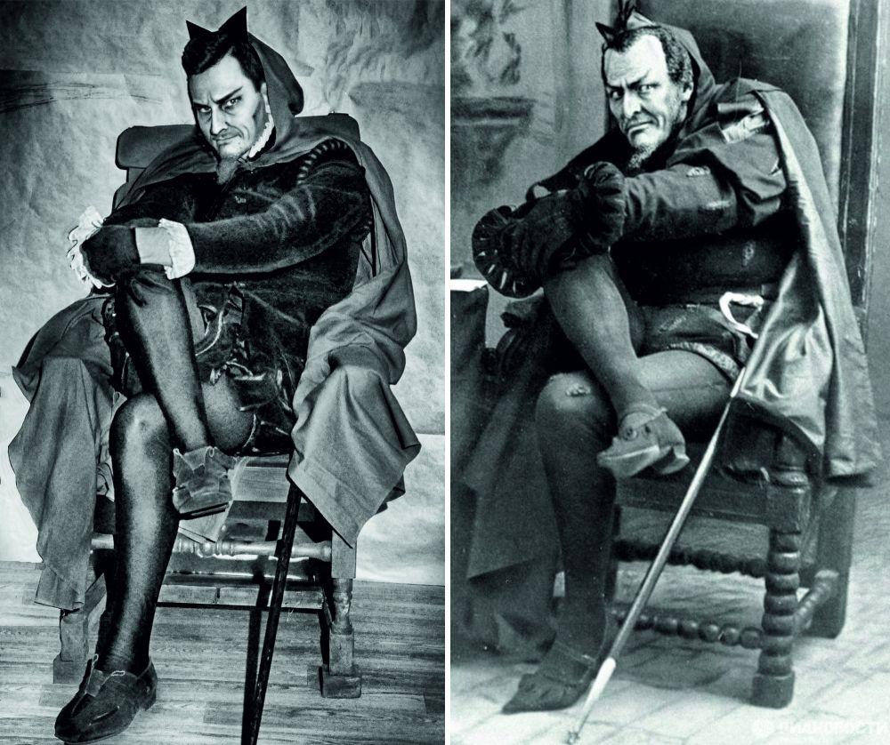 Ильфат Садыков в образе Мефистофеля, которого сыграл Шаляпин.