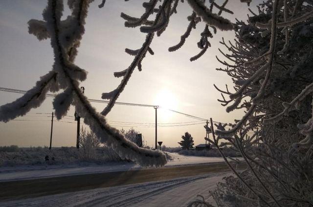 МЧС: в Оренбуржье задержались аномальные морозы