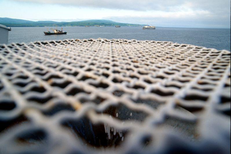 Морские суда у острова Хабомаи.