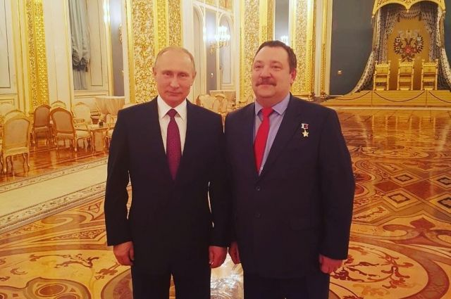Роман Шадрин на приеме в Кремле