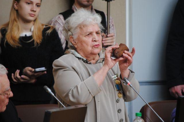 В Оренбурге прошло мероприятие, посвященное 75-ой годовщине снятия блокады.
