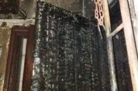 Площадь горения составила квадратных метров, пострадавших нет