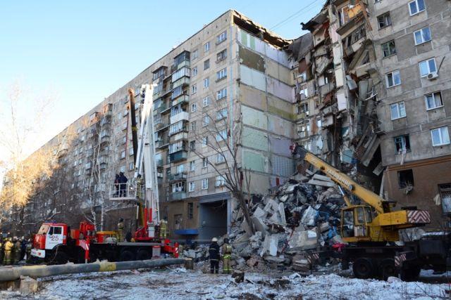 ДО конца квартала в Магнитогорске должны демонтировать пострадавшие подъезды.