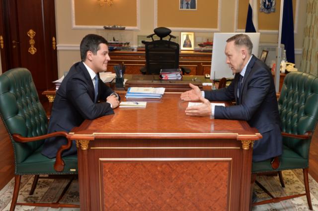 Губернатору Ямала рассказали о перспективах развития Шурышкарского района