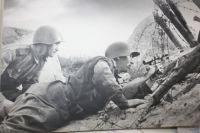 Снайперы на Ленинградском фронте.