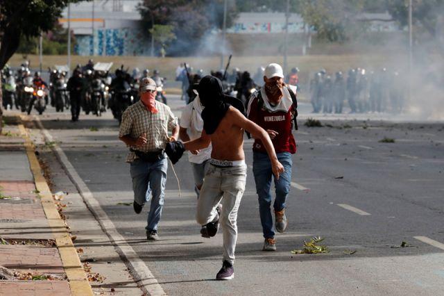 Госдеп порекомендовал гражданам США покинуть Венесуэлу