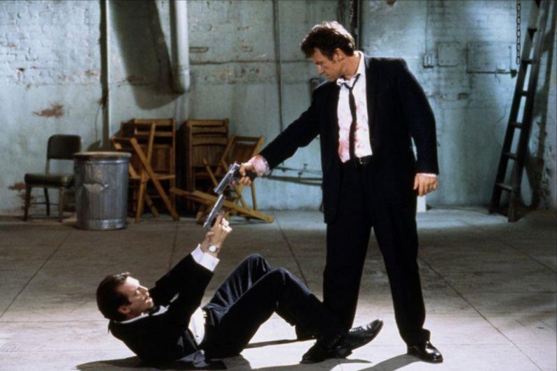 «Бешеные псы» (1991). Фильм тогда еще малоизвестного режиссера Квентина Тарантино на удивление тепло был принят зрителями и получил множество положительных отзывов, однако «Оскара» удостоилась только следующая работа Тарантино — «Криминальное чтиво».
