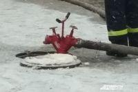 На месте пожара работали семь сотрудников МЧС.