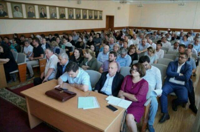В Тюменском районе жители встретились с представителями администрации
