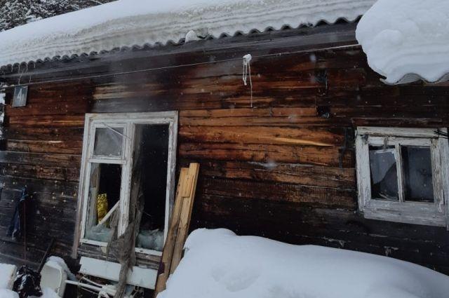 Тело женщины обнаружили во время тушения пожара.