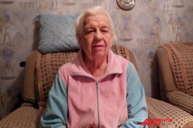 Мама и сестра Валентины Гуниной остались жить в Ленинграде, а она уехала в Ижевск.