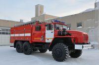 В новоуренгойскую пожарную часть поступил новый автомобиль