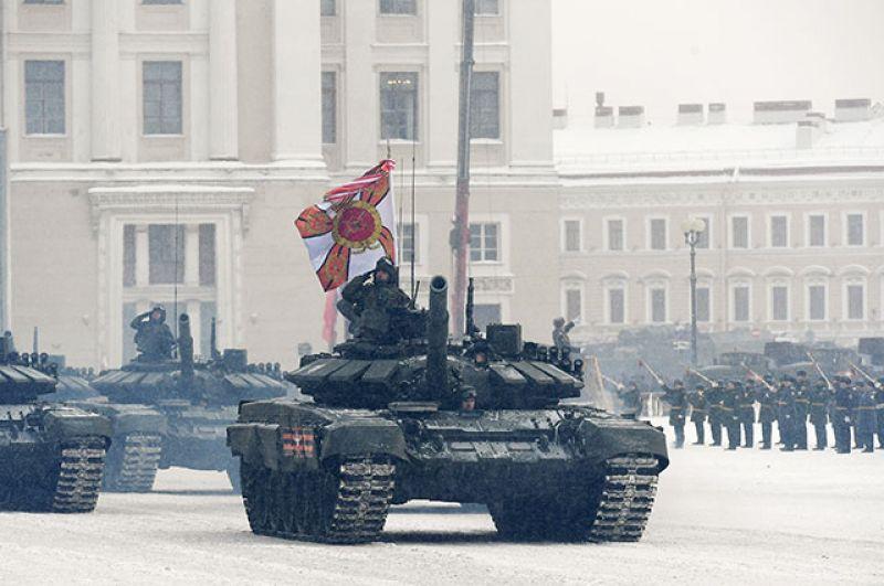 Танки Т-72Б3.