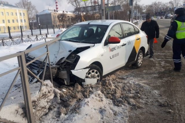 К счастью, в аварии никто не пострадал.