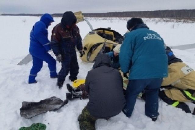 Летательный аппарат совершил жесткую посадку в Нижегородской области photo