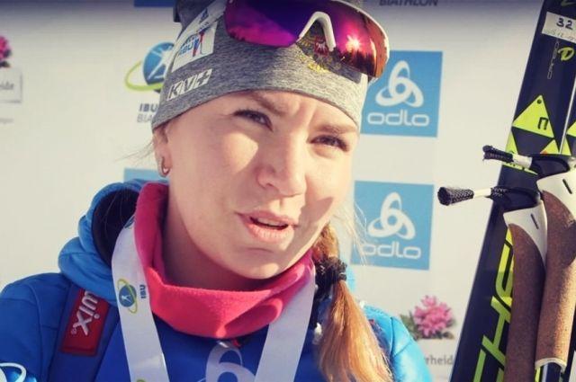 Биатлонистка Виктория Сливко из Тюмени вышла в тройку лидеров Кубка IBU
