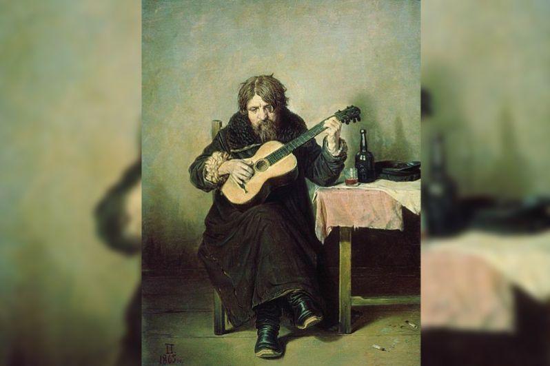 В 1999 году на Русский музей в Санкт-Петербурге был совершен вооруженный налет, преступники похитили две картины Василия Перова — «Гитарист-бобыль» (на фото) и эскиз к знаменитой «Тройке». В 2000 году обе работы были найдены в камере хранения Варшавского вокзала.