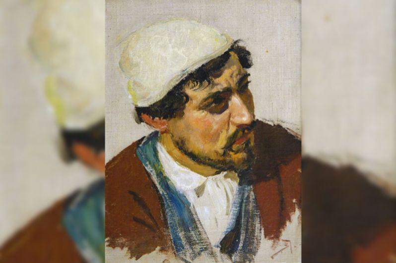 Грабители (ими оказались местные жители) были задержаны, а картины возвращены в музей. На фото: украденная картина Поленова.
