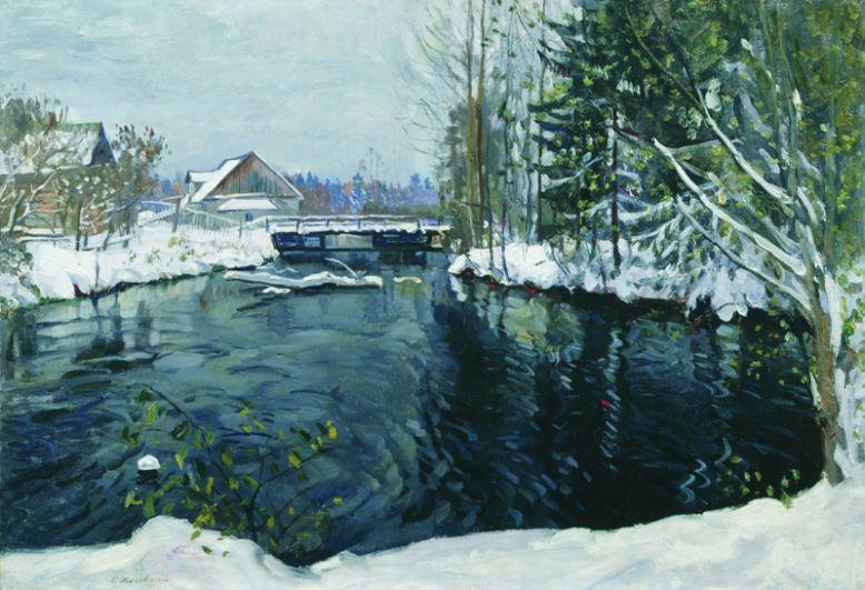 Общая стоимость украденных картин оценивается более чем в 3,3 млн долларов. На фото: украденная картина Жуковского.