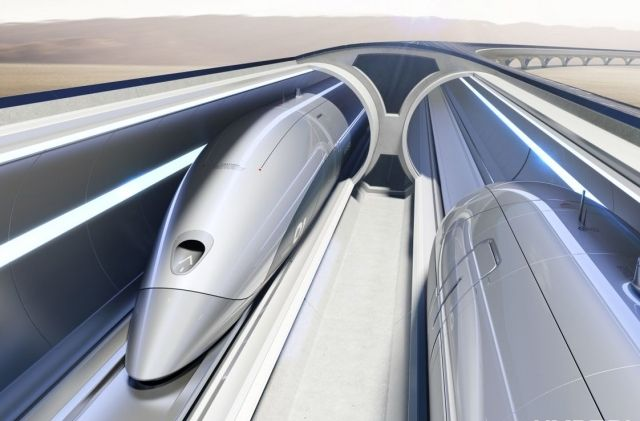 Академия наук одобрила постройку Hyperloop в Украине