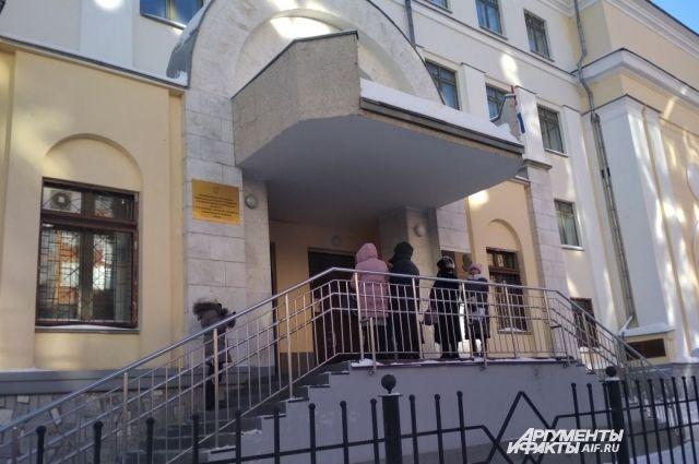 В школе № 2 в Перми эвакуировали всех учеников.