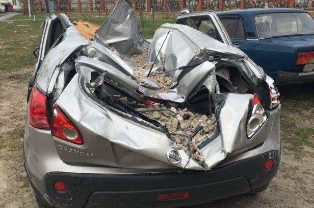 Дело об обрушении кирпичей на автомобиль в селе Каскара передано в суд