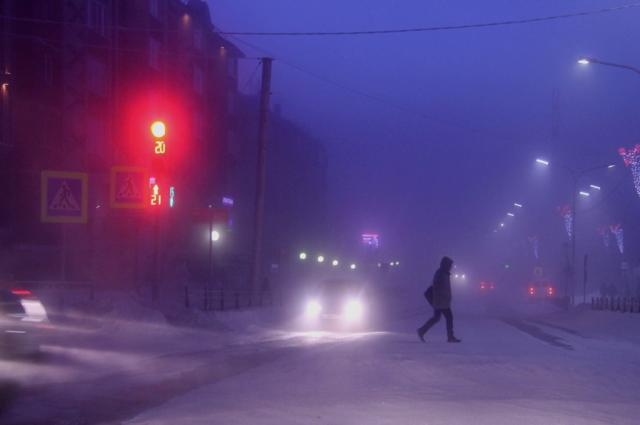 В Салехарде из-за морозов введут режим повышенной готовности