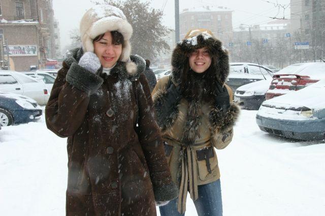 Даже тёплая одежда не всегда защищает от мороза.
