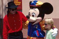 Майкл Джексон и Маколей Калкин. 1991 г.