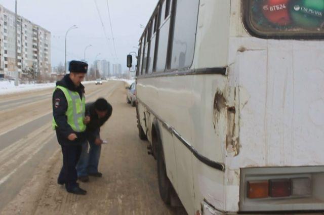 В Калининграде инспекторы выявили четырёх недобросовестных водителей автобусов