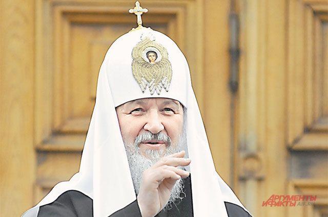 Патриарх Московский и всея Руси Кирилл намерен посетить Пермь.