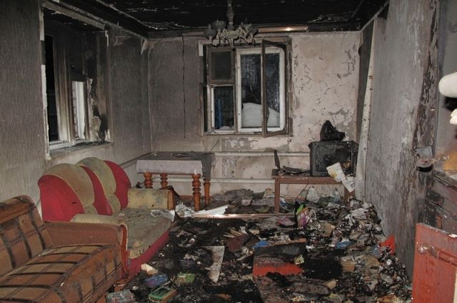 В Бугурусланском районе задержан вор, поджегший дом