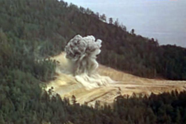 Мирный ядерный взрыв на объекте «Глобус-1». 1971 г.