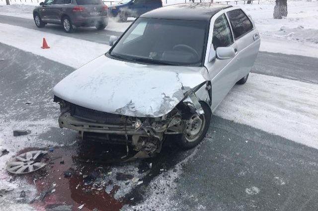 В Новотроицке в ДТП с Chevrolet и «ВАЗом» пострадала женщина